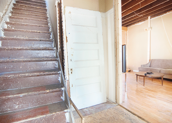 ... this door!) so it was important for us to get every single layer of paint off which would allow the details in the paneling to shine through once we ... & The Great Door Revisited (And Getting the Lead Out) - Yellow Brick Home