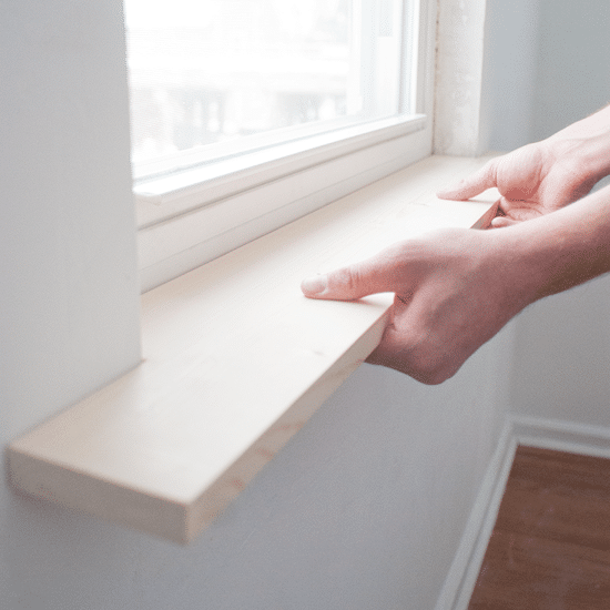 Kitchen Window With Ledge: How To Install Window Sill Moldings