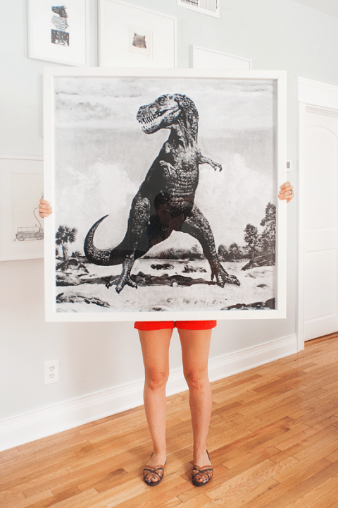 DIY Giant Frames for Your Dinosaurs (+ $100!) - Yellow Brick