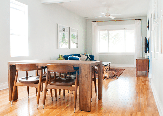 That Time We Accidentally Bought A New Table Yellow Brick Home - Cb2 kitchen table