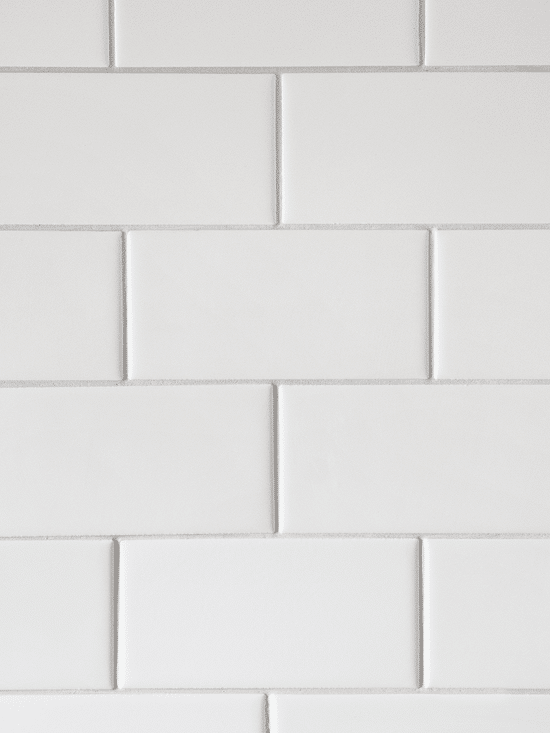 White Kitchen Subway Tile Backsplash Color
