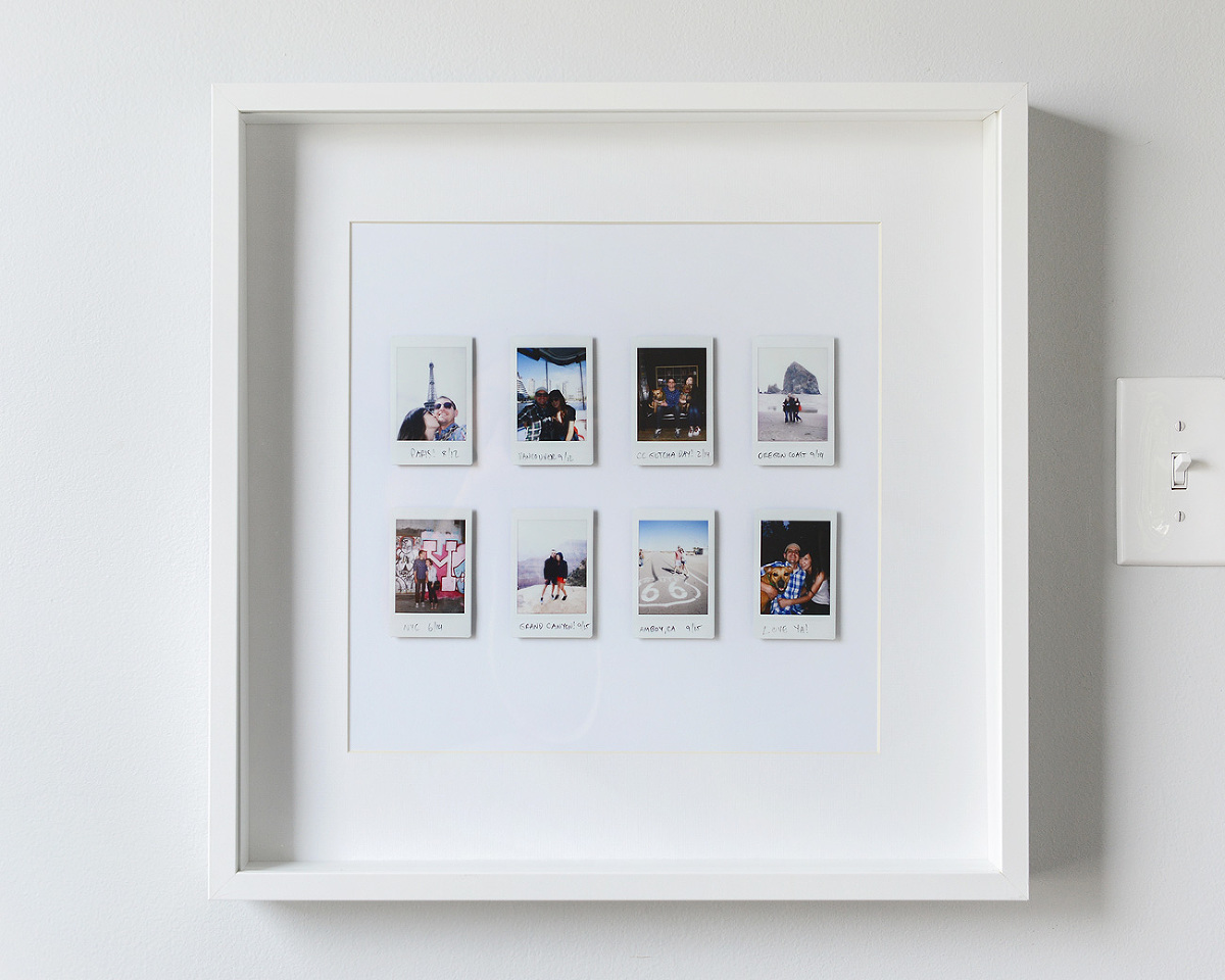 A Fun And Easy Instant Photo Display