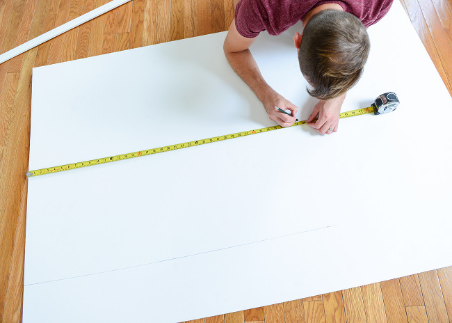 How we measured cut and installed our butcher block for Butcher block installation