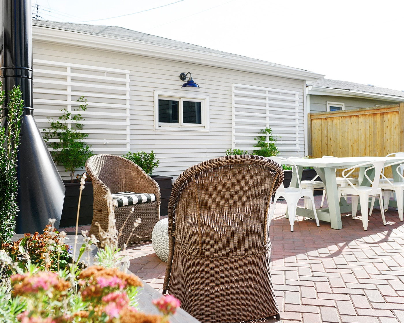 our back patio makeover