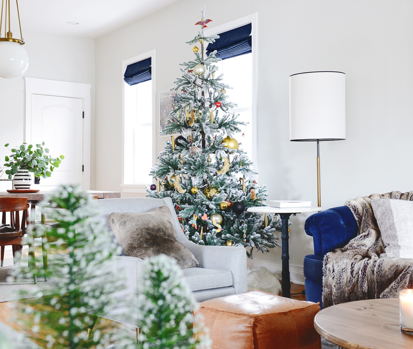Our Simple Holiday Home Tour | Yellow Brick Home