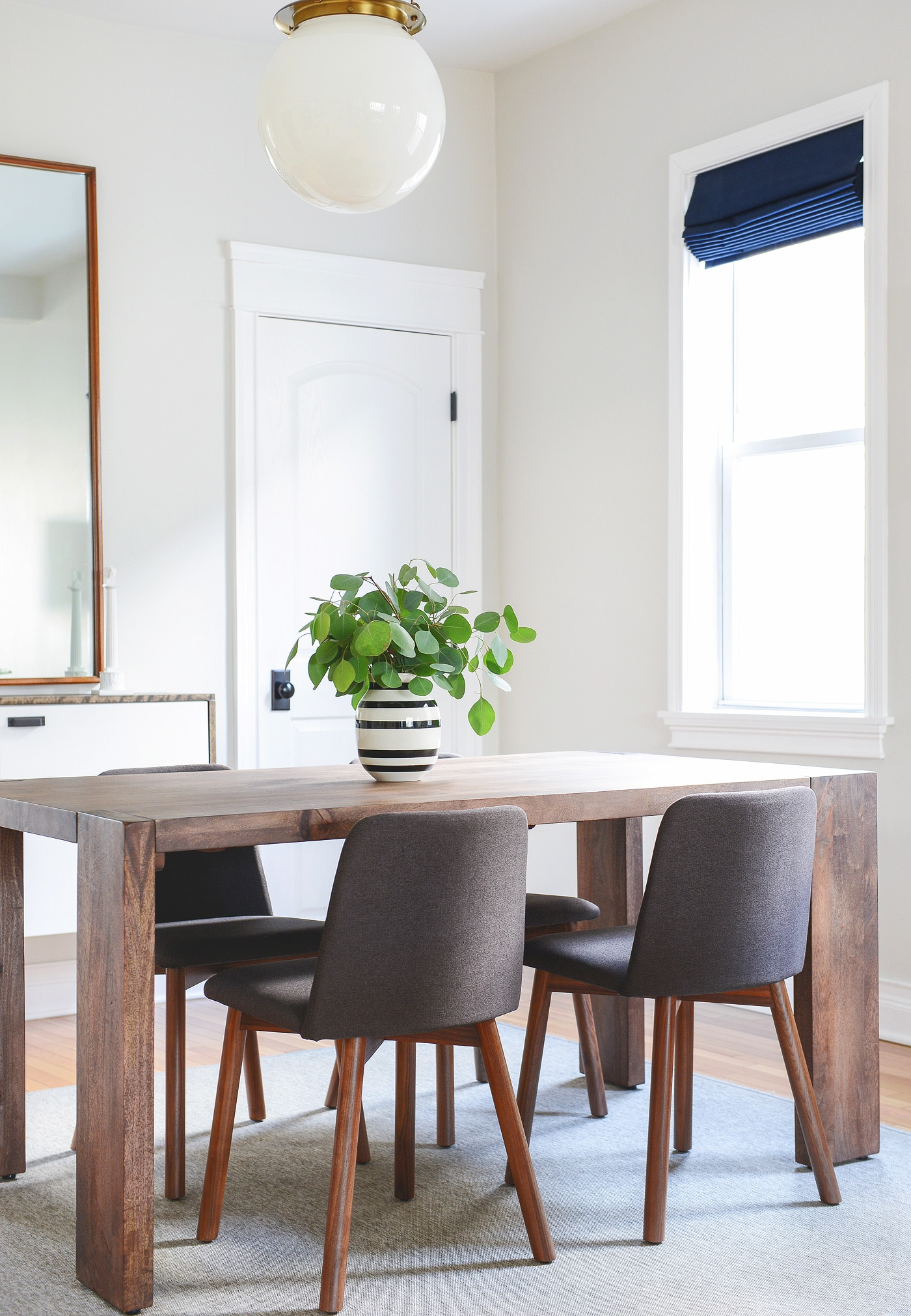 a new look in the dining room a blu dot giveaway yellow brick home