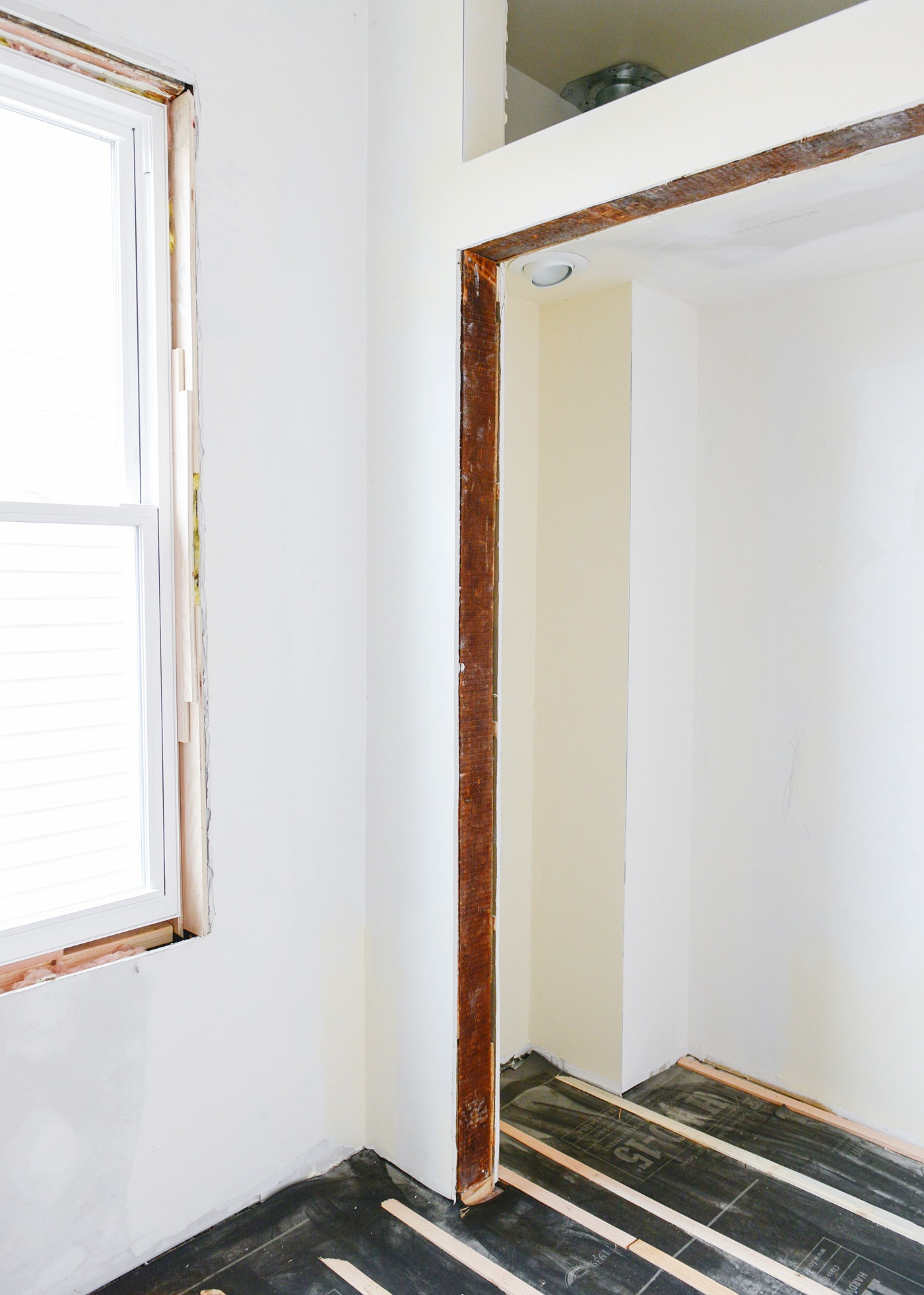 Drywall, Electric, Closet and a Subfloor - Yellow Brick Home