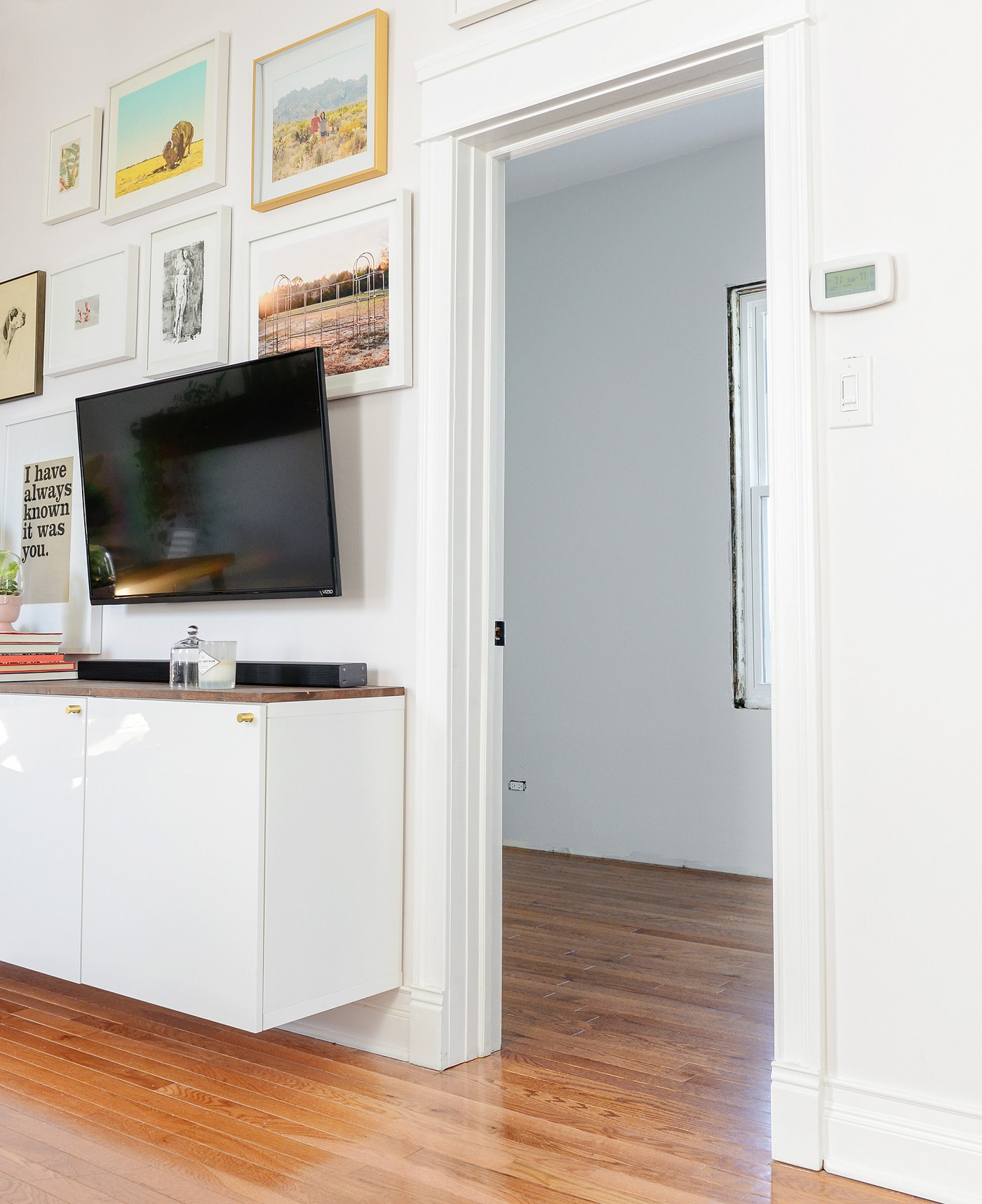 All The Hardwood Flooring In Our Home Was Chosen By The Previous Owner, And  Although It Wouldnu0027t Be Our First Choice, We Have To Admit That It Holds Up  ...