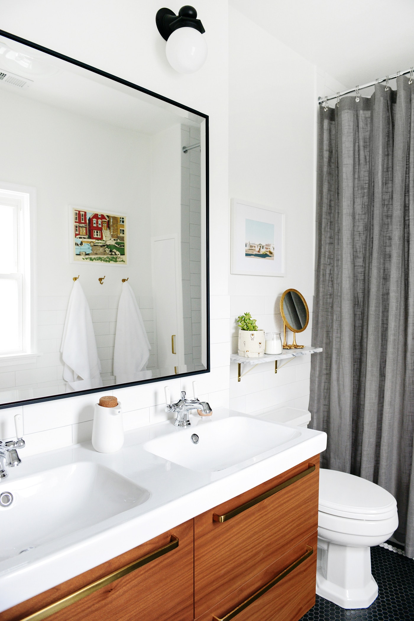 Spectacular It us been almost one year since we pleted our bathroom renovation We uve all but forgotten about the ten days of backbreaking tiling
