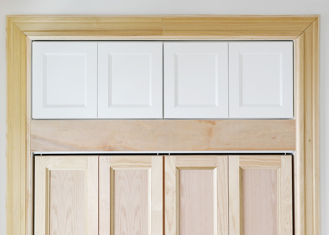 Adding Extra Deep Cabinets Above Our Closet Yellow Brick Home
