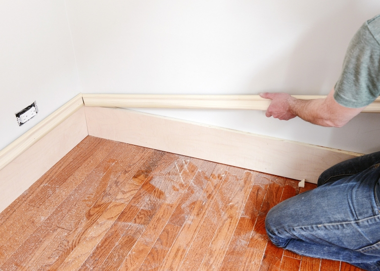 How To Install Trim >> A Trim Story Repairing Old Matching New How We Install