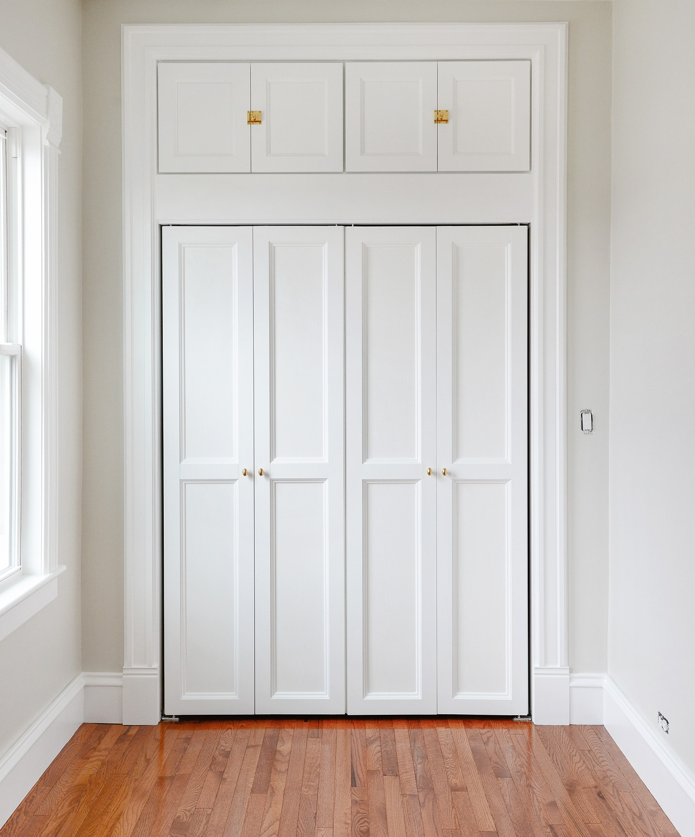 & How We Added Extra Hunky Trim to Our Bi-Fold Doors | Yellow Brick Home