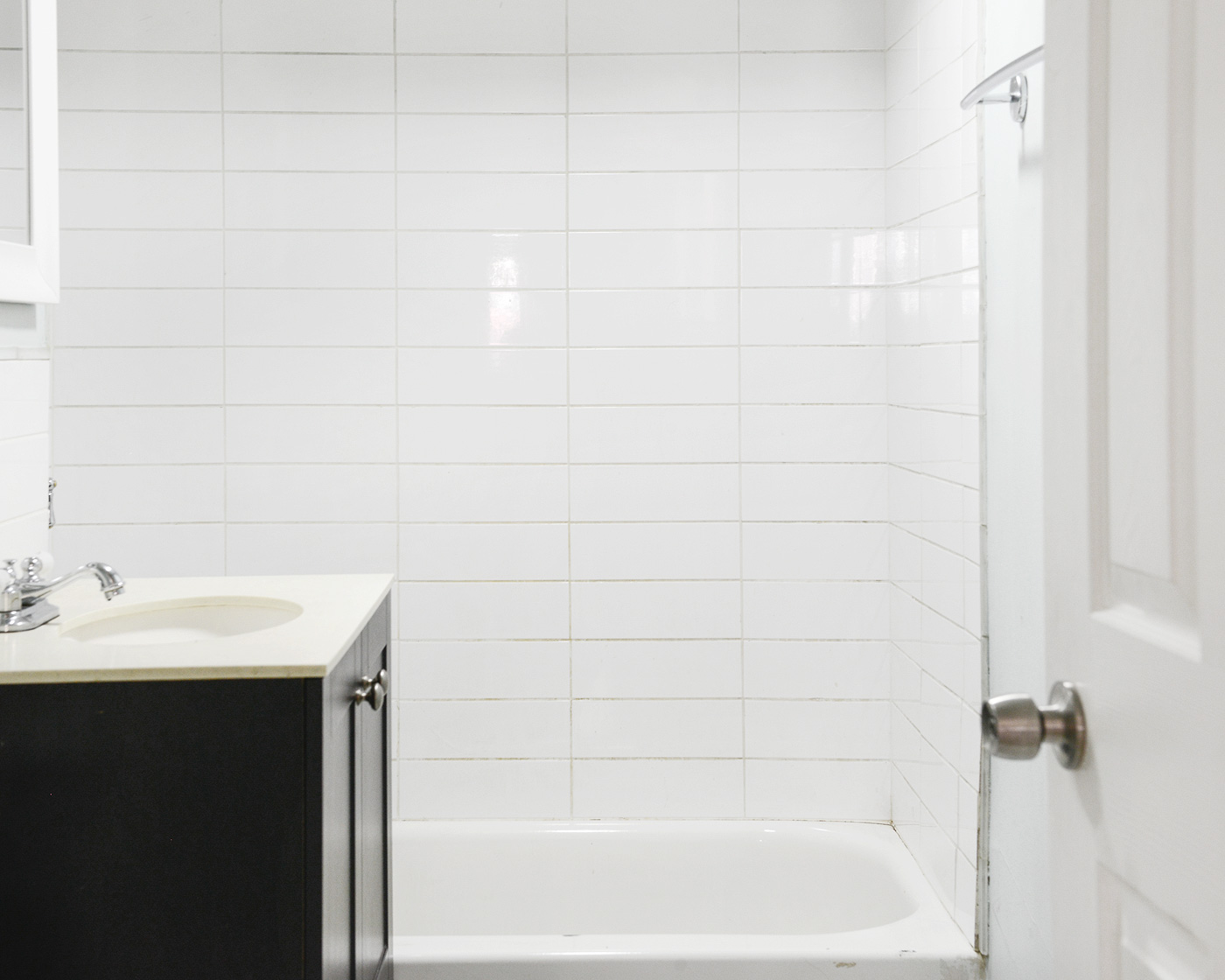 The Garden Bathroom: Before + Progress - Yellow Brick Home