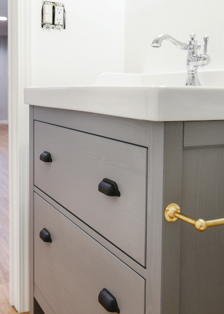 What Makes an IKEA Vanity Stand Out Above the Rest - Yellow Brick Home