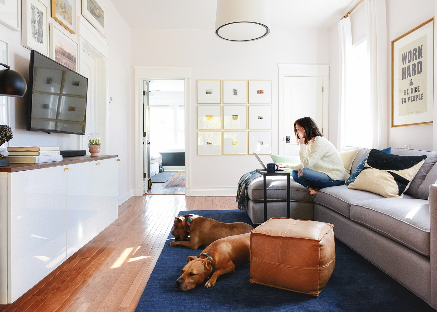 Our Favorite Places to Shop for Pet-Friendly Throw Pillows - Yellow Brick  Home