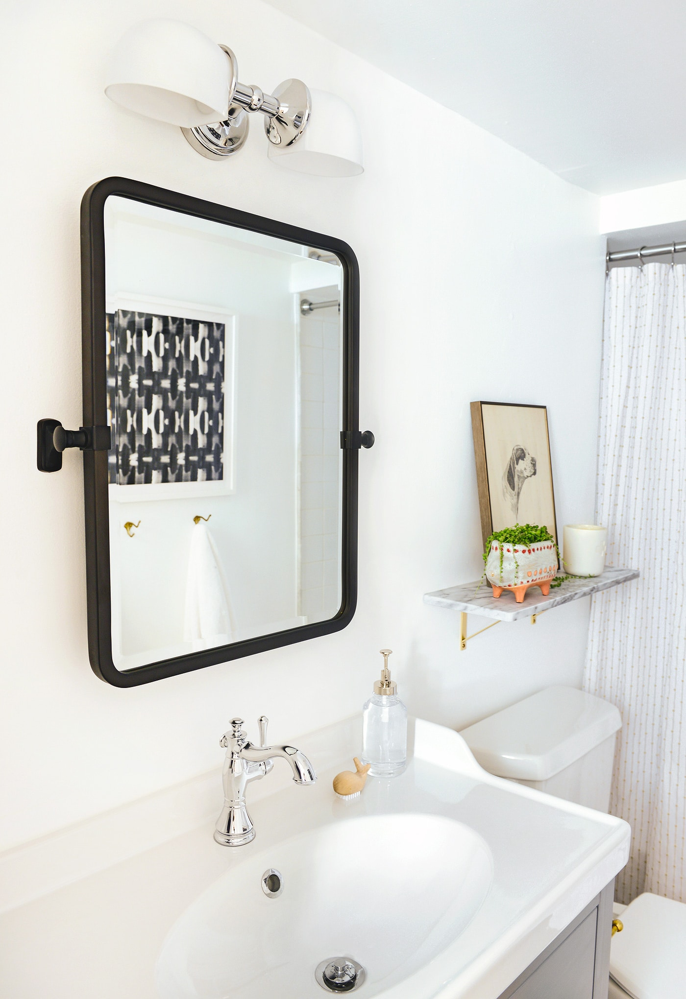 The Garden Bathroom Makeover