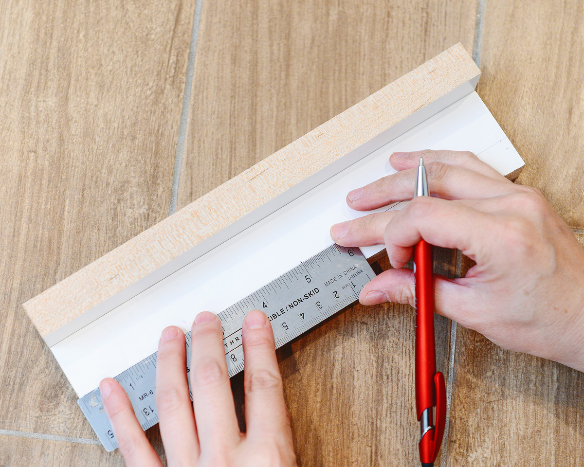 An Easy DIY Oversized Hardware Template (+ A Kitchen Sneak