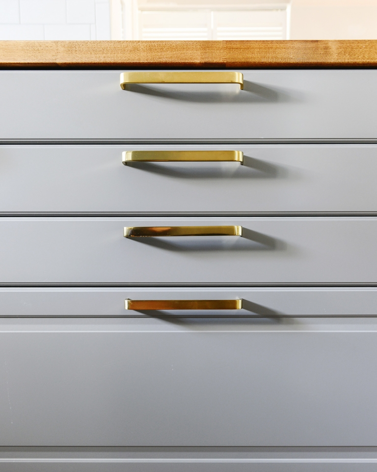An Easy DIY Oversized Hardware Template (+ A Kitchen Sneak ...