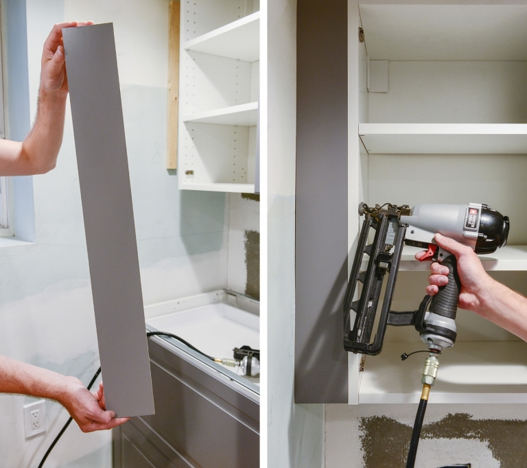 Perfecting The Imperfect In Our Ikea Kitchen Fillers Panels Toe