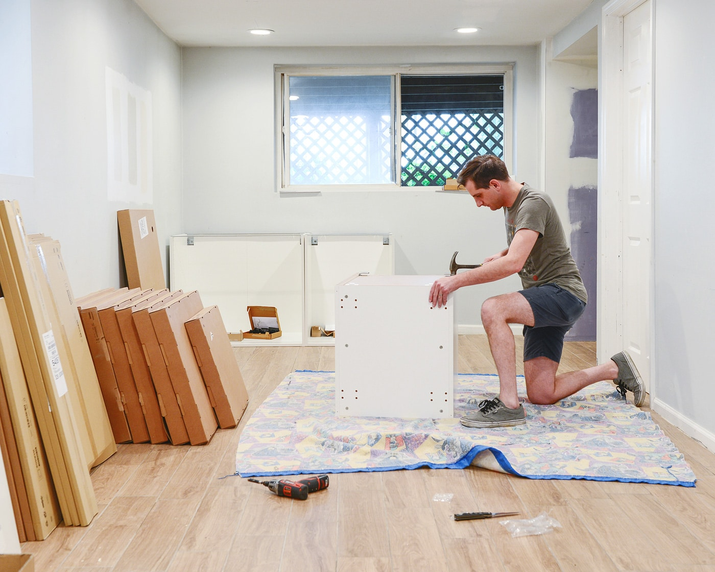 Organizing And Installing Our Ikea Kitchen Yellow Brick Home