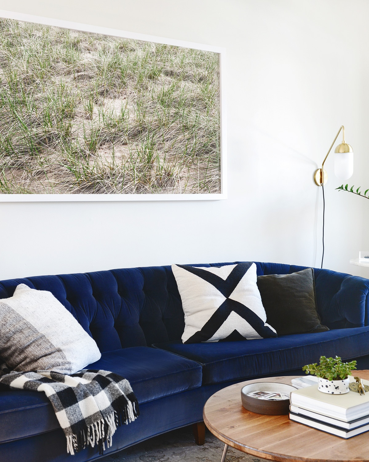 The Easier Way To Make A Giant Frame New Living Room Art