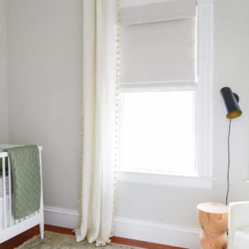 Bali Blinds Natural Shades in Kayana Opal | a review via Yellow Brick Home