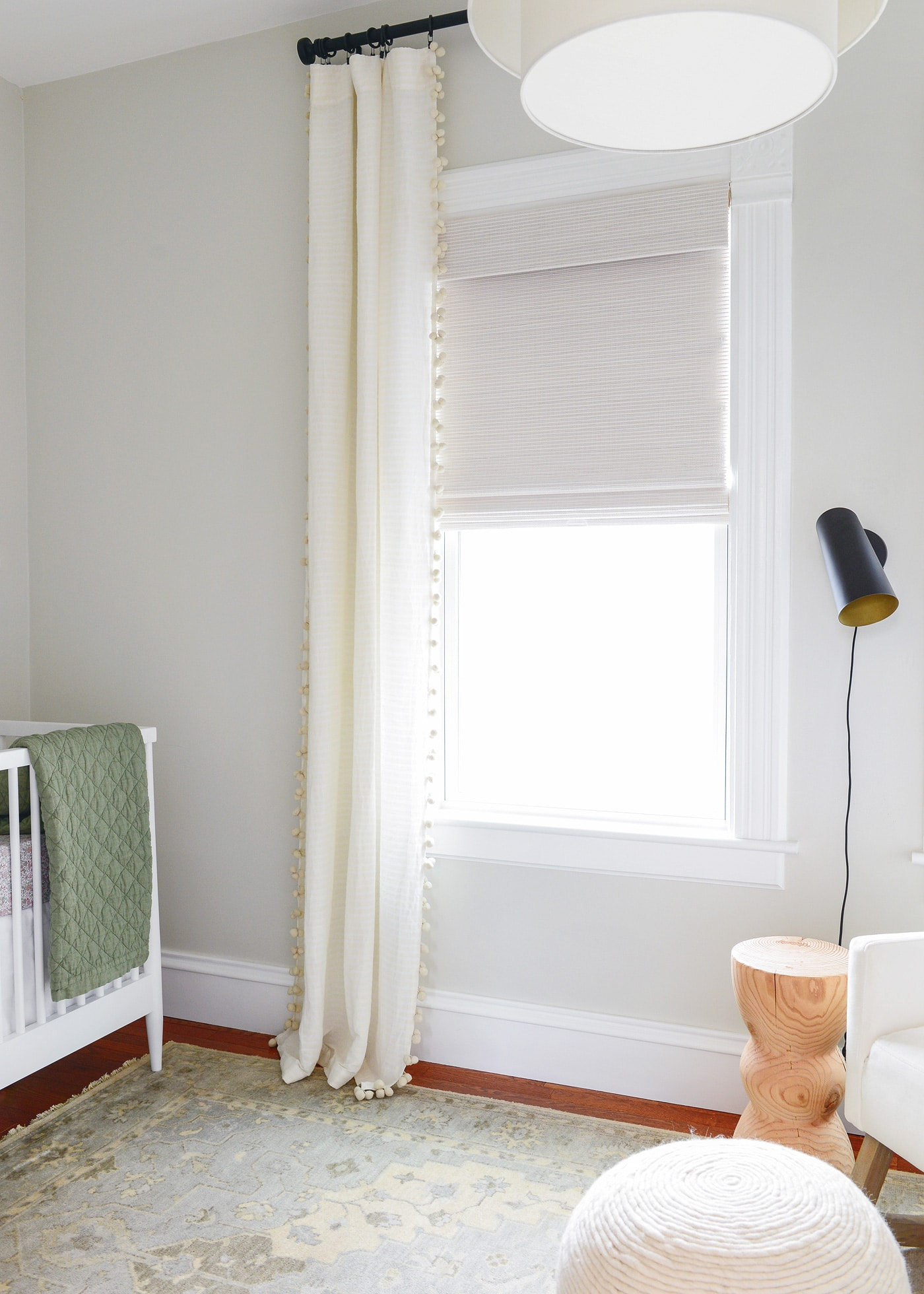 On choosing natural shades in the nursery yellow brick home for Bali blinds