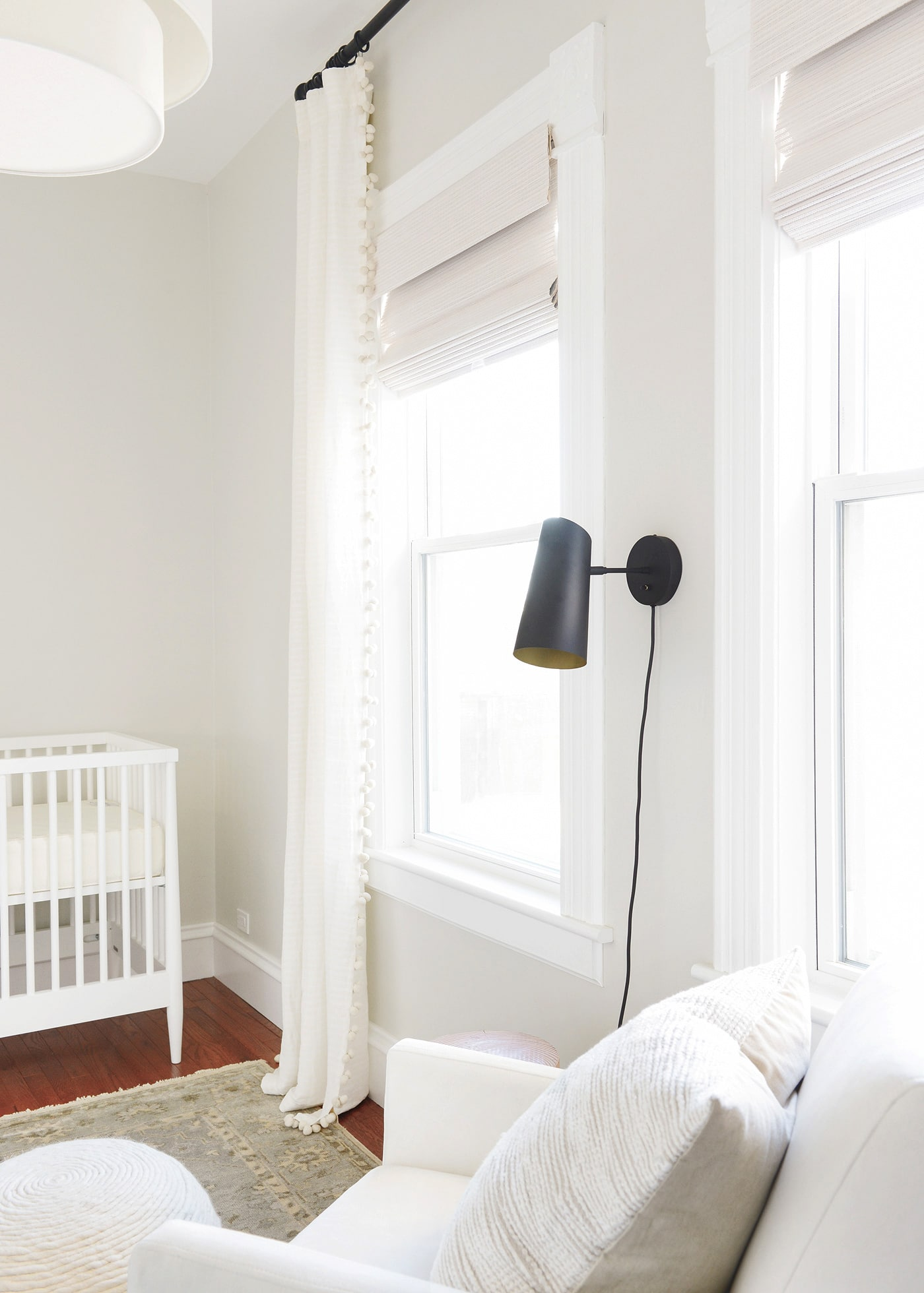 Pom Pom Curtains + Other Updates In the Nursery!