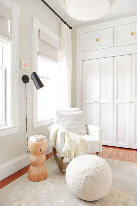 A Cozy Neutral And Tiny Nursery Reveal Yellow Brick Home
