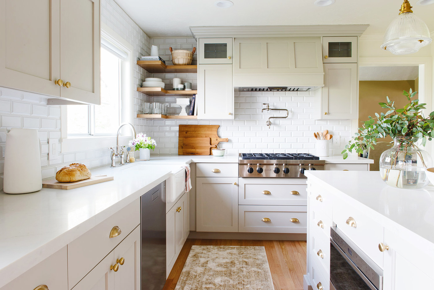 Let\'s Talk About the Kitchen + Mudroom! | Yellow Brick Home