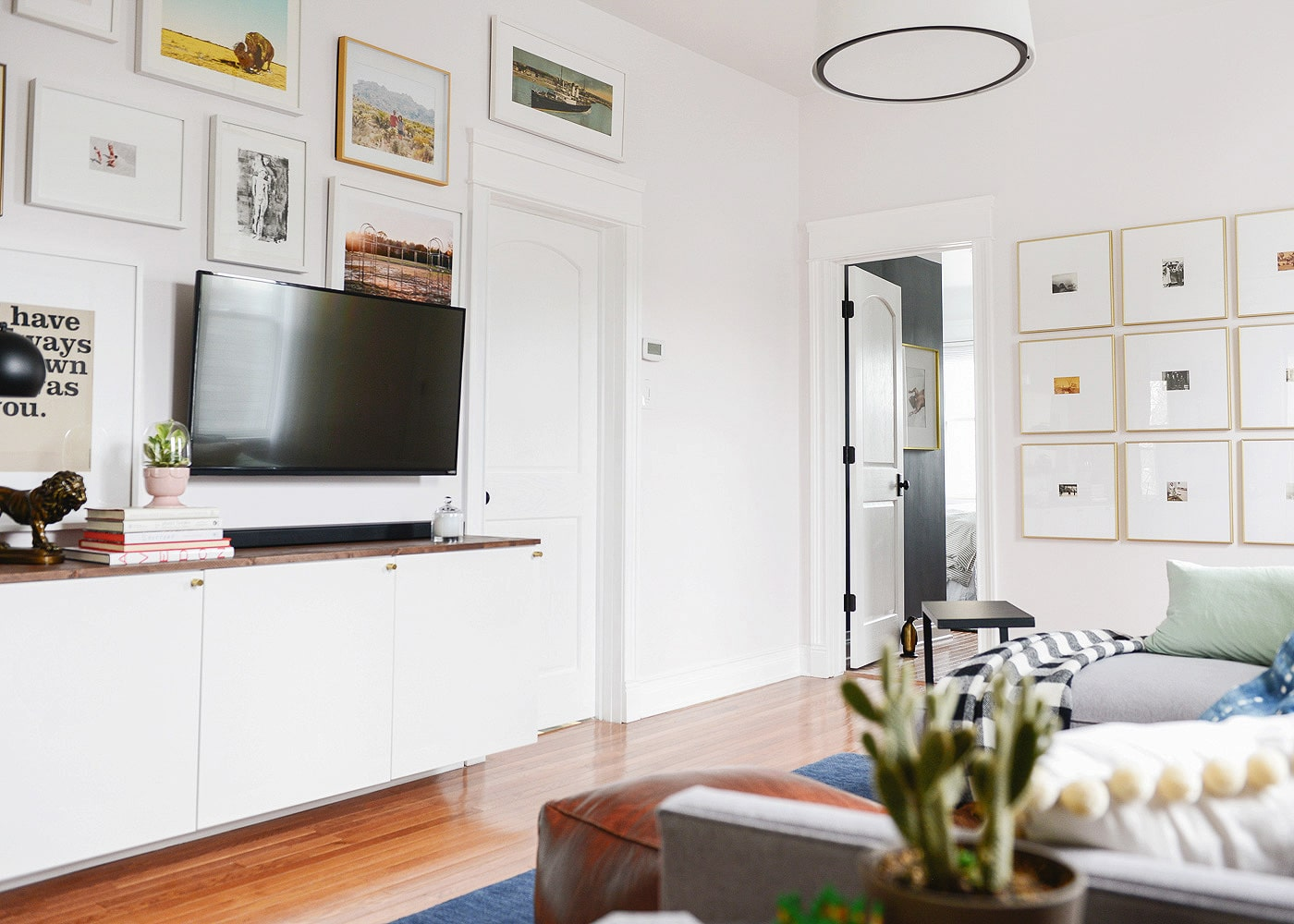 A Gallery Wall Update + Our Go-To Framing Guide