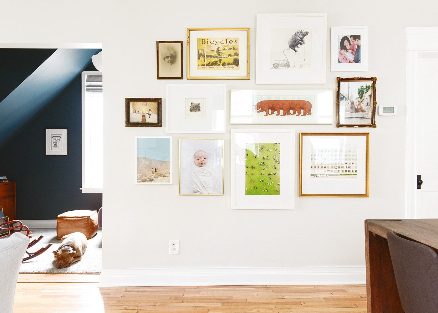 A Gallery Wall Update + Our Go-To Framing Guide - Yellow Brick Home