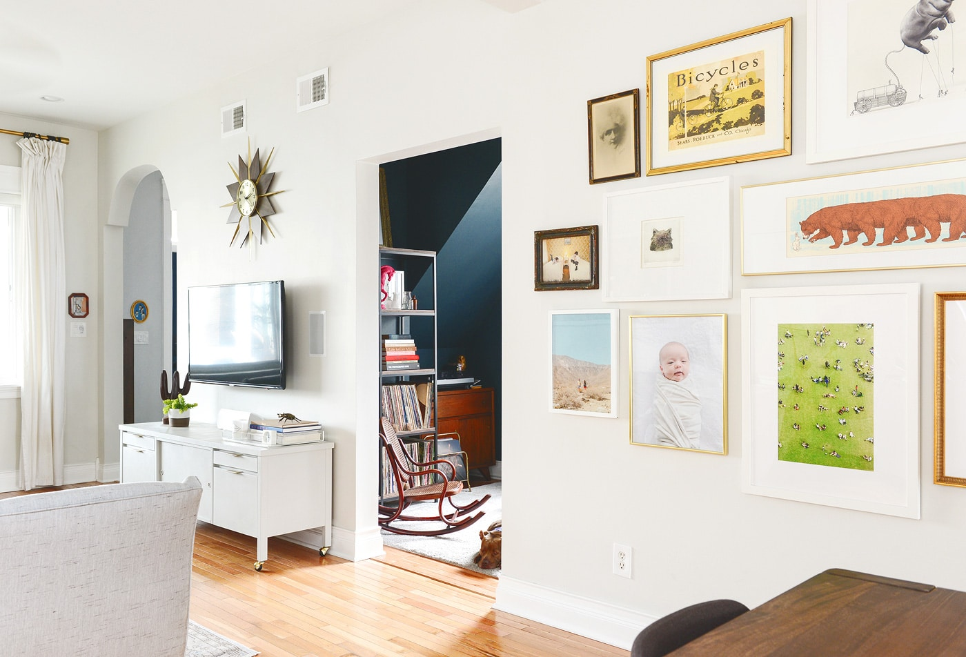A Gallery Wall Update + Our Go-To Framing Guide | Yellow Brick Home