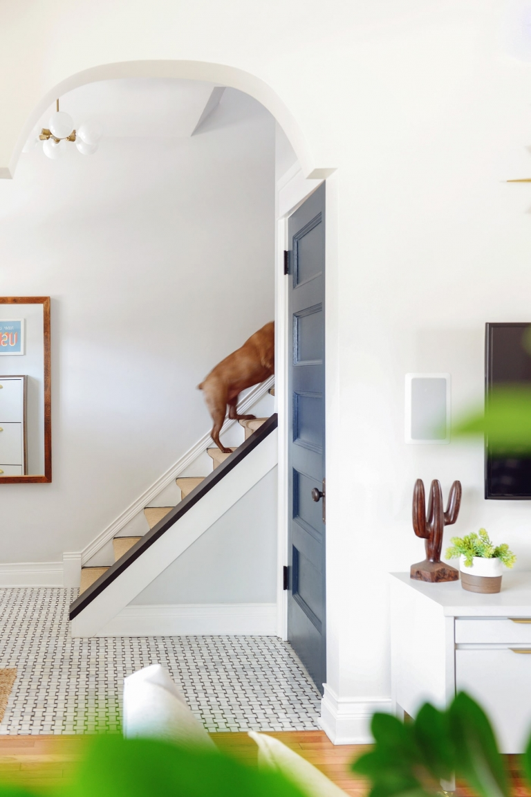 How And Why We Added A Stair Runner Yellow Brick Home