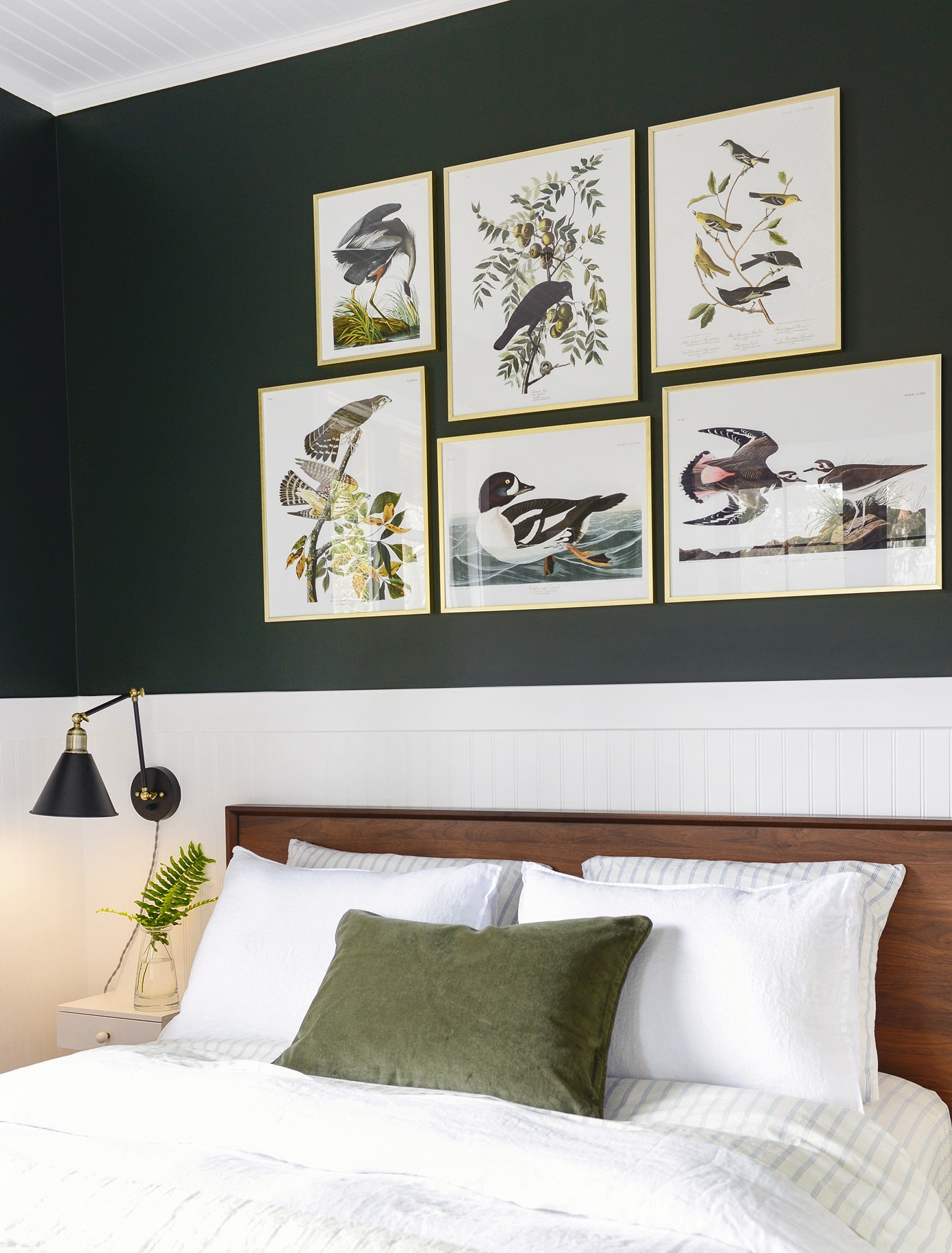 About Those Birds + How-To Plan a Gallery Wall