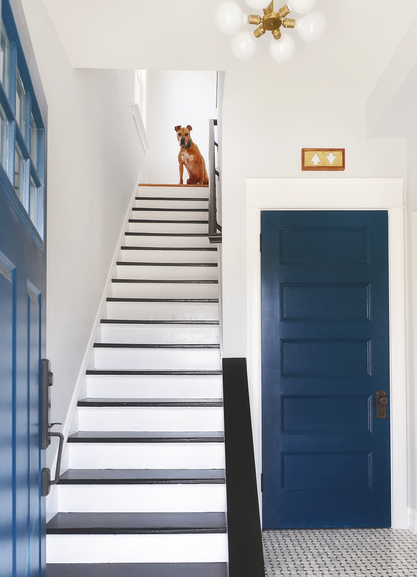 We Love Those Black And White Stairs. The Treads Are Pocked And Dented, A  Badge Of Honor From The Last Century Of Use. Thereu0027s A Stubborn Nail That  Pops Out ...