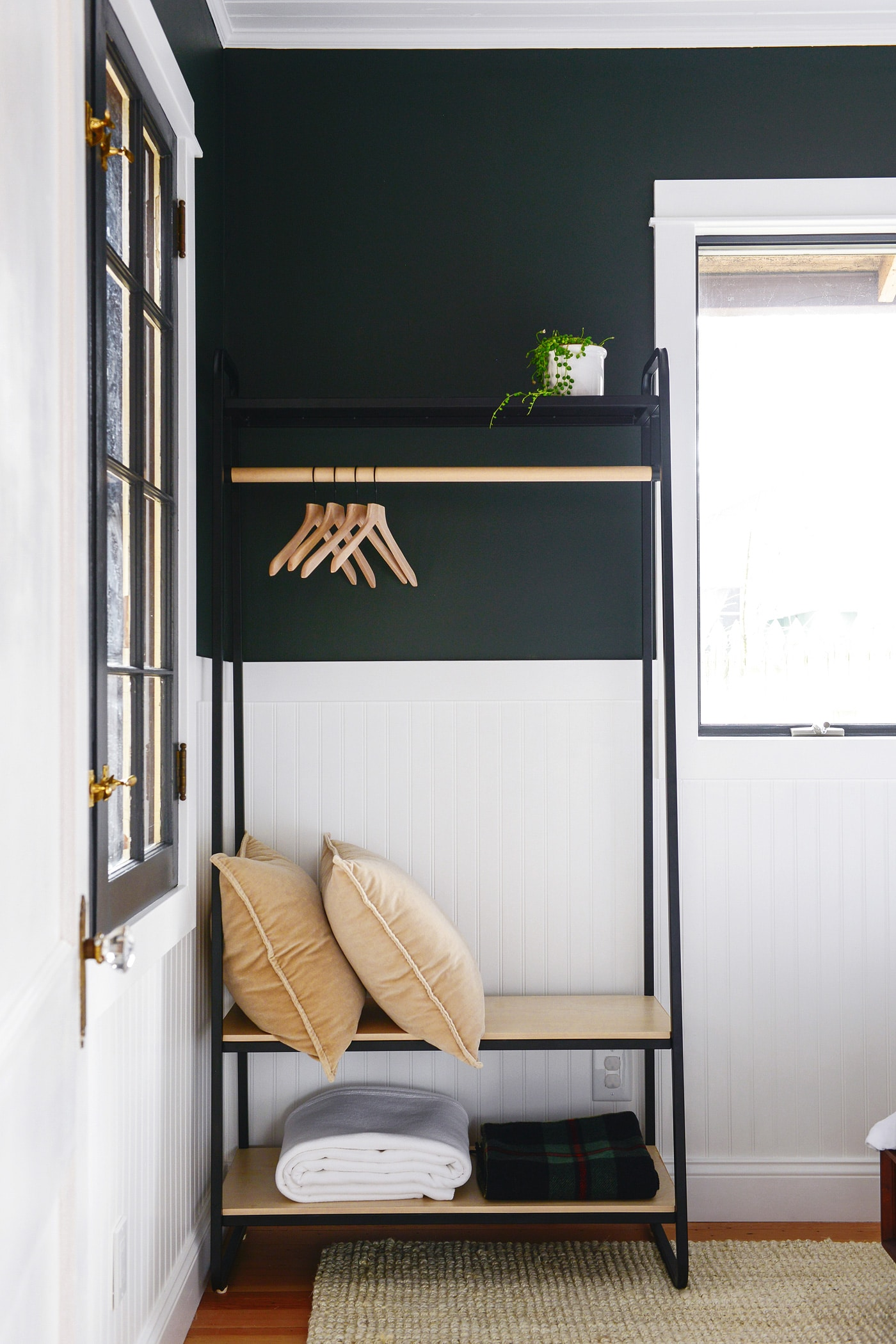 The Guest Room Closet + Modifying Brand New Furniture