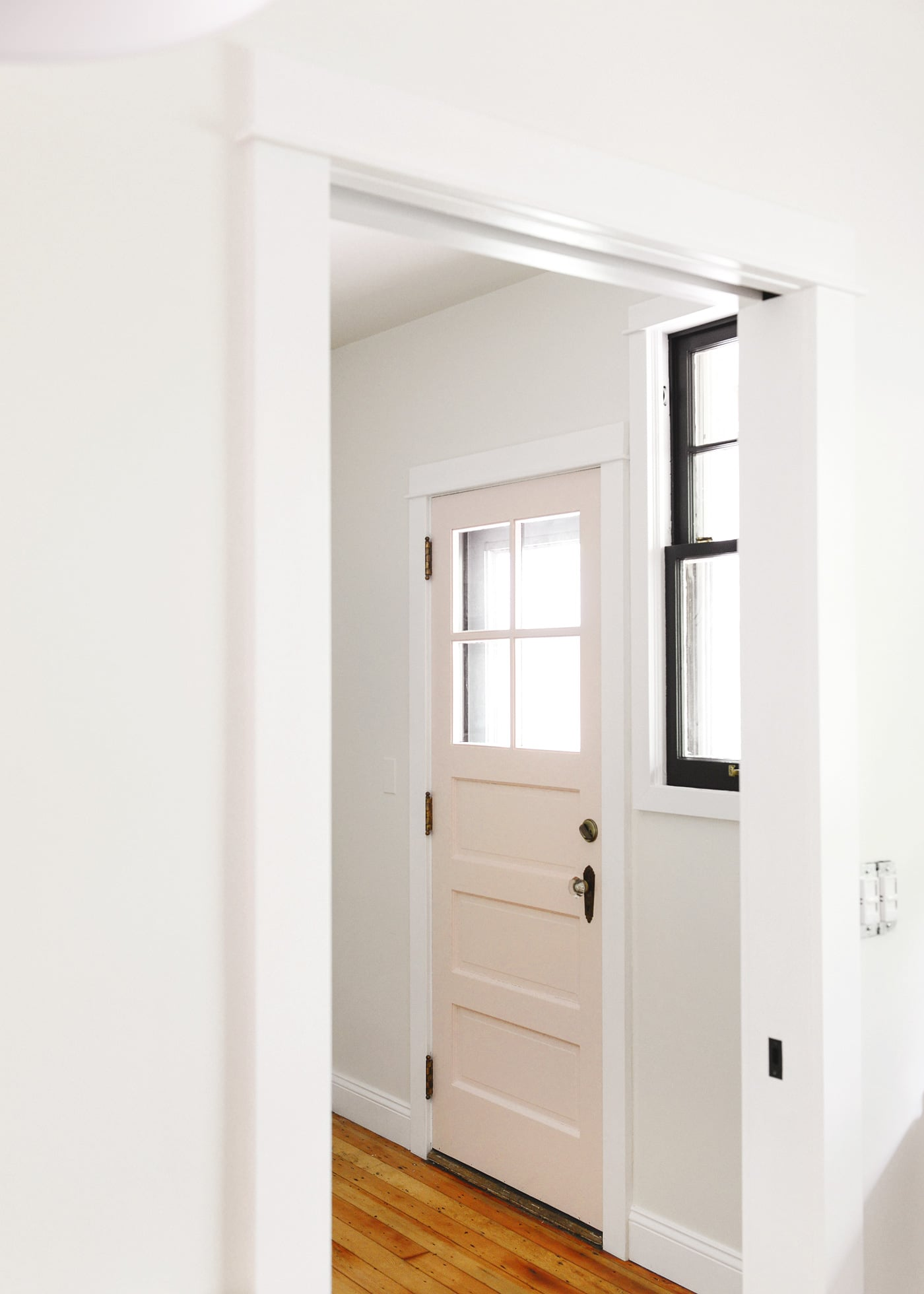 How To Prep, Repair + Paint A Front Door