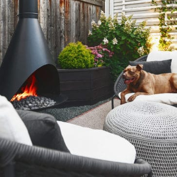 how to convert a fireplace to natural gas // via Yellow Brick Home