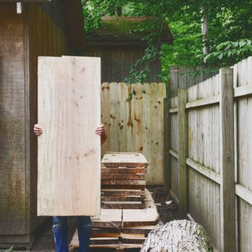 Portable wood milling: How does it work? We're sharing our experience on Yellow Brick Home