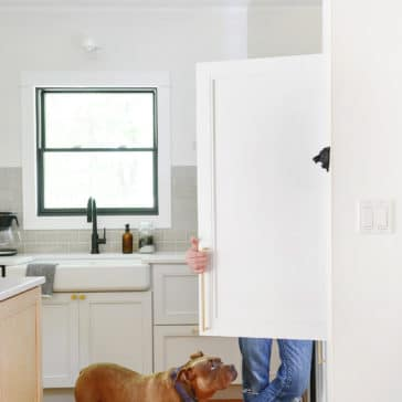 Everything you need to know about integrated panel ready appliances | via Yellow Brick Home