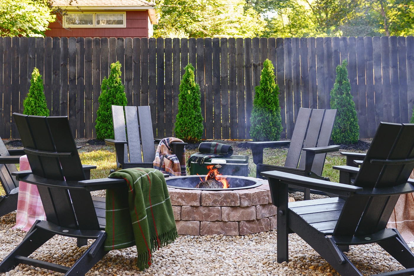How To Make A Fire Pit Diy Via Yellow Brick