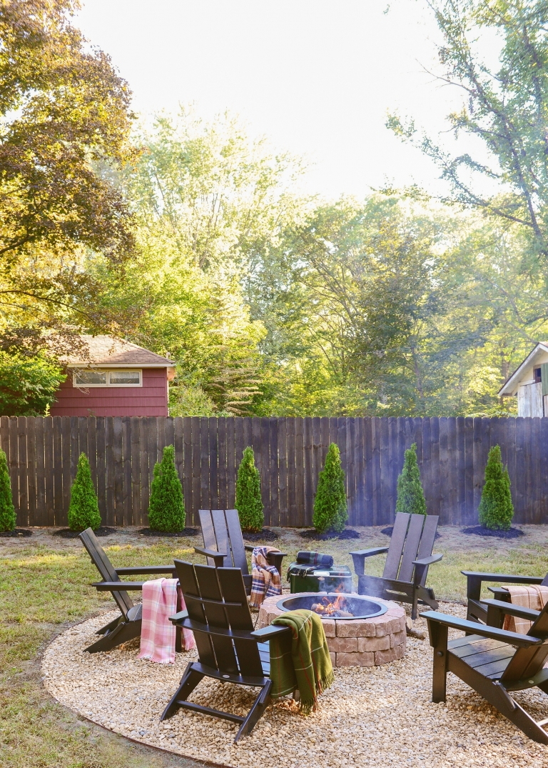 Our 3 Day Backyard Makeover Yellow Brick Home