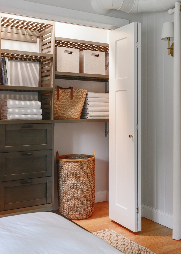 Picture of: How To Organize Your Closet Using A Closet Kit Yellow Brick Home