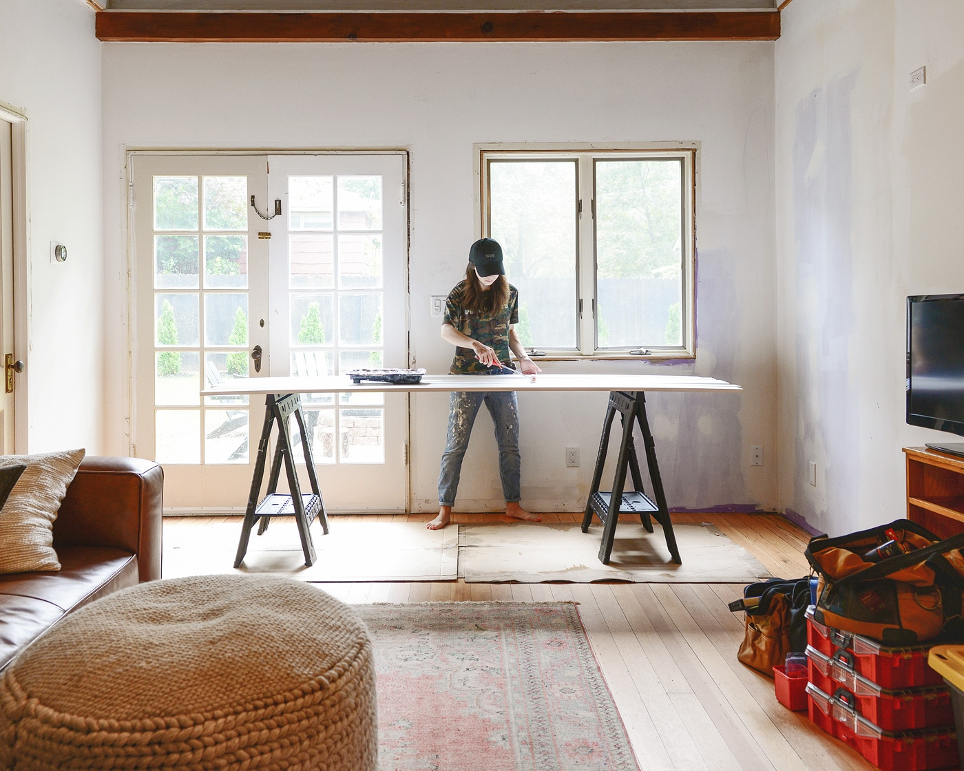 Our favorite paint tools so you can get the job done right! via Yellow Brick Home