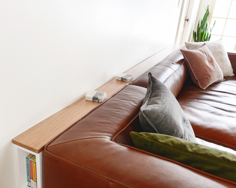A Slim Behind The Sofa Console