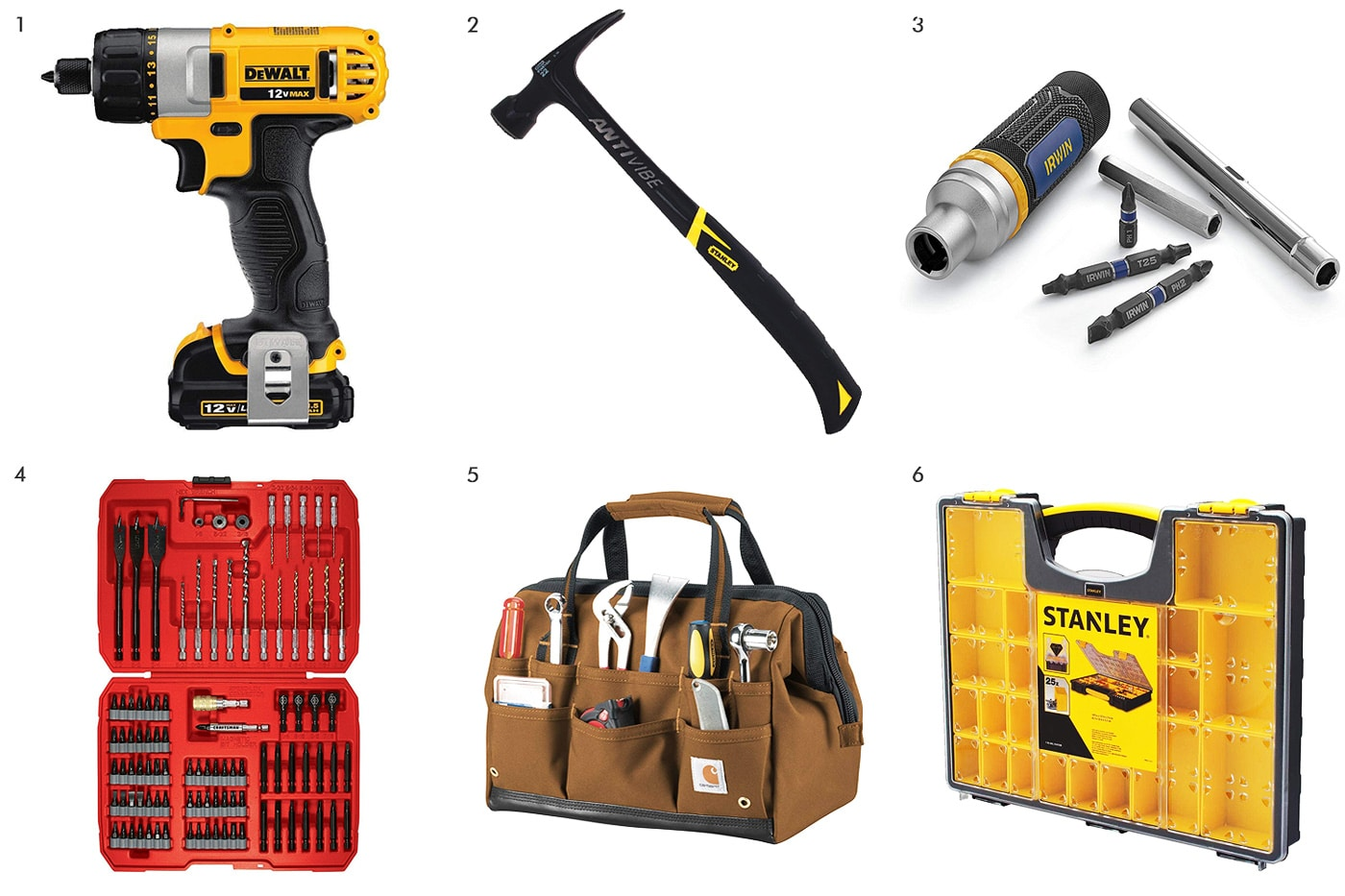 Building your tool library | via Yellow Brick Home