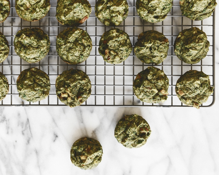 veggie packed muffins, toddler friendly // via Yellow Brick Home