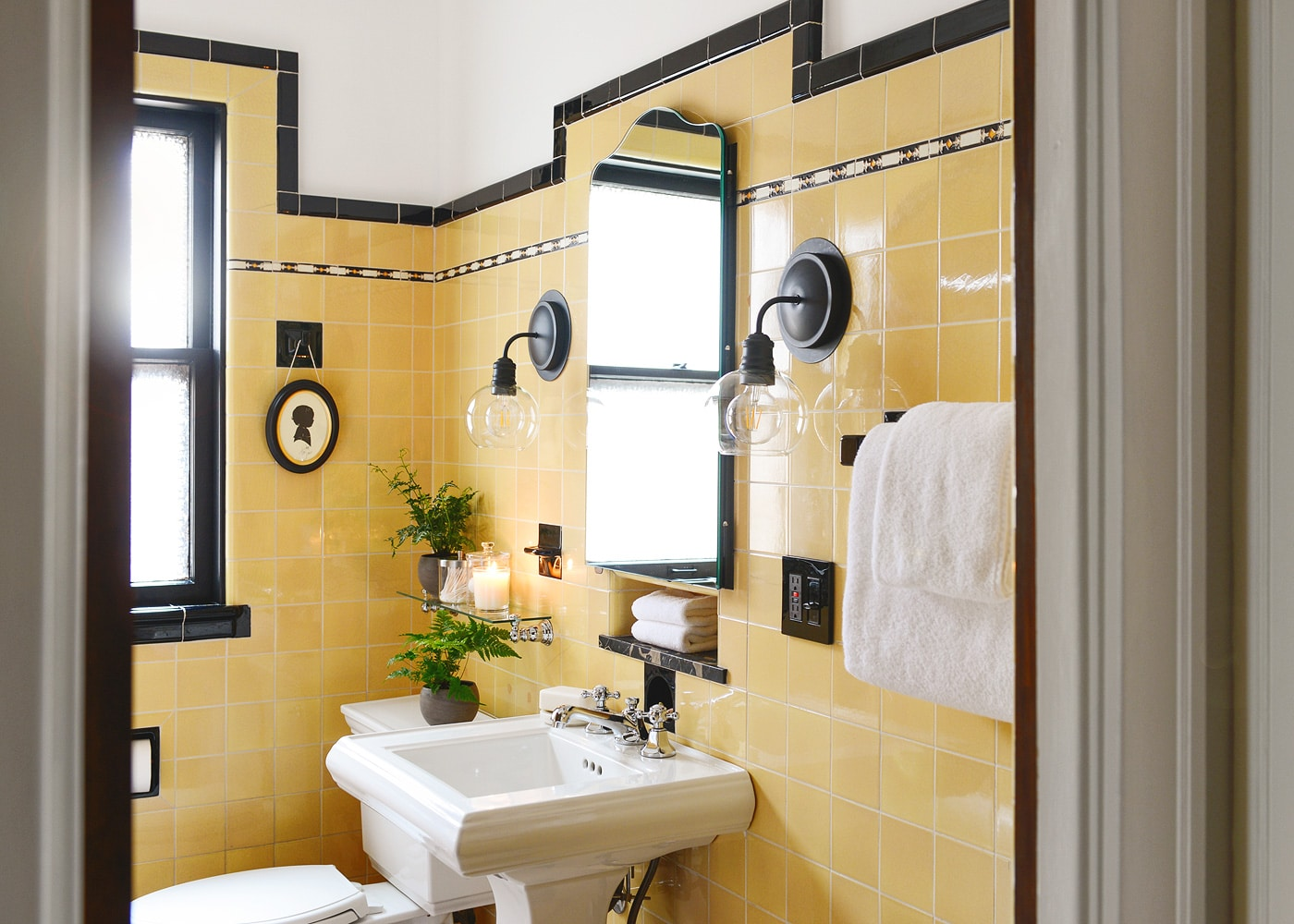 How To Refresh a Vintage Bathroom + Keep the Charm: II of II