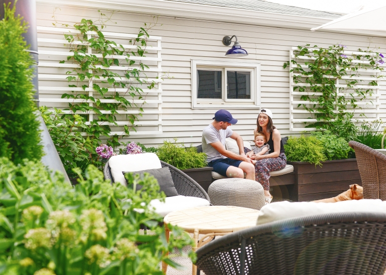 A garden update on insulated raised planter beds // via Yellow Brick Home